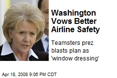 Washington Vows Better Airline Safety