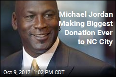 Michael Jordan Making Biggest Donation Ever to NC City