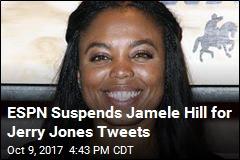 ESPN's Jamele Hill Suspended for Jerry Jones Tweets