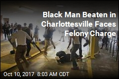 Black Man Beaten in Charlottesville Faces Felony Charge