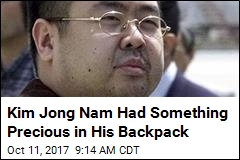 Kim Jong Nam Had Something Precious in His Backpack