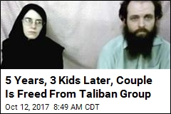 US-Canadian Family of 5 Freed From Taliban Group