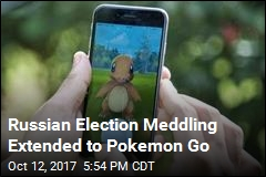 Russian Election Meddling Extended to Pokemon Go