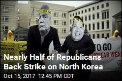 Half of Republicans Support Preemptive Strike on N. Korea