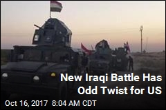 New Iraqi Battle Has Odd Twist for US