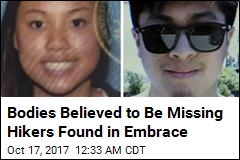 Bodies Believed to Be Missing Hikers Found in Embrace