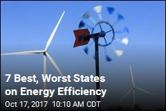 7 Best, Worst States on Energy Efficiency