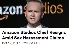 Amazon Studios Chief Resigns Amid Sex Harassment Claims