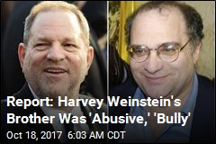Bob Weinstein Called 'Abusive,' 'Bully'