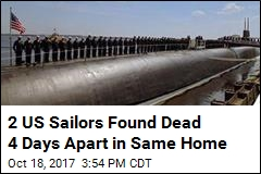 2 Navy Sailors Found Dead 4 Days Apart in Same Home