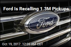 Ford Is Recalling 1.3M Pickups