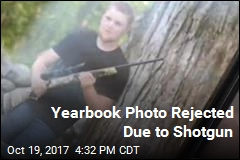 Yearbook Photo Rejected Due to Shotgun