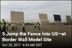 Border Wall Prototypes Are Almost Finished