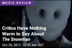 Critics Have Nothing Warm to Say About The Snowman