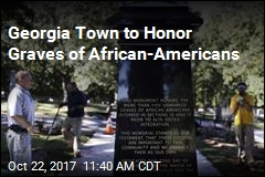 Georgia Town to Honor Graves of African-Americans