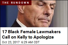 Congressional Black Caucus Wants Kelly to Apologize