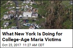 US Colleges Step Up to Help Hurricane Maria Victims