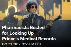 Pharmacists Busted for Looking Up Prince's Medical Records