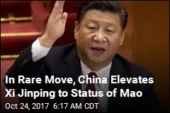 China Just Put Xi Jinping in Same League as Mao