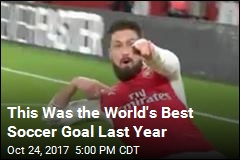 This Was the World's Best Soccer Goal Last Year