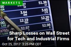 US Stocks Close Lower on Wall Street