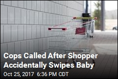 Absent-Minded Shopper Takes Cart With Baby Inside
