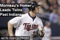 Morneau's Homer Leads Twins Past Indians