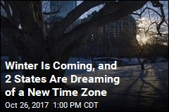 Winter Is Coming, and 2 States Are Dreaming of a New Time Zone