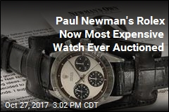 Paul Newman's Rolex Just Sold for a Whopping Sum
