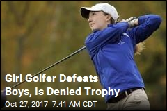 Girl Golfer Defeats Boys, Is Denied Trophy