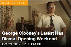 George Clooney's Latest Has Dismal Opening Weekend