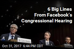 6 Big Lines From Facebook's Congressional Hearing