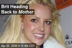 Brit Heading Back to Mother