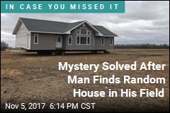 Mystery Solved After Man Finds Random House in His Field