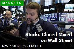 Stocks Closed Mixed on Wall Street