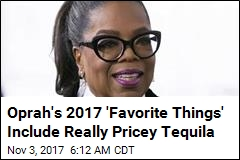 Oprah's 2017 'Favorite Things' Include Tequila, 'Gratitude Jar'
