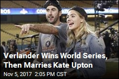 Verlander Wins World Series Then Marries Kate Upton