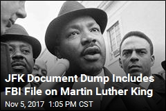 JFK Document Dump Includes FBI File on Martin Luther King