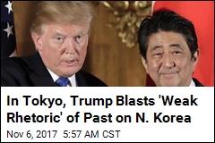 Trump on N. Korea: 'Threat to the Civilized World'
