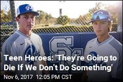 Schoolmates, Baseball Teammates, and Now Heroes