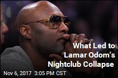 Lamar Odom Collapses in Nightclub