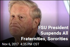FSU President Suspends All Fraternities, Sororities