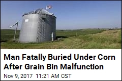 County Supervisor Killed in Freak Grain Bin Accident