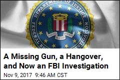 Boozy Night Results in FBI Supervisor's Missing Gun
