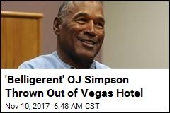 OJ Simpson Banned From Vegas Hotel