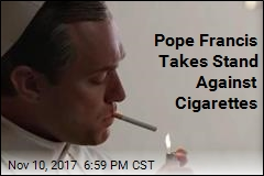Pope Bans Cigarette Sales in Vatican