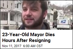 23-Year-Old Mayor Dies Hours After Resigning
