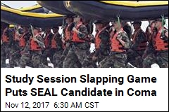 Study Session Slapping Game Puts SEAL Candidate in Coma