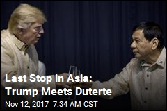 Trump, Duterte Meet in Manila