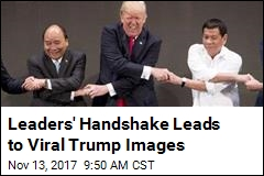 Trump Has Another Handshake Moment